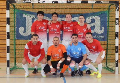 Lavin Futsal Team Stockstadt (Foto: Irma Schlothauer)