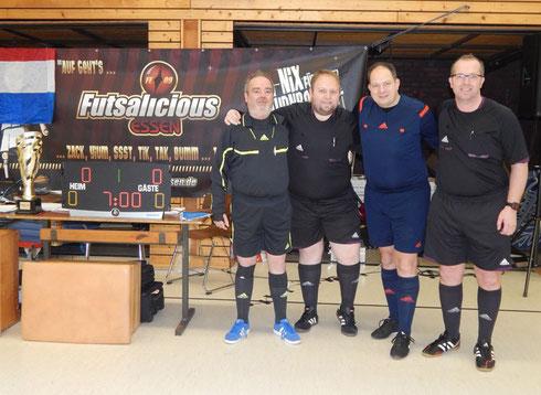 Das POKALICIOUS 2015-Schiedsrichter-Team (Foto: Irma Schlothauer)