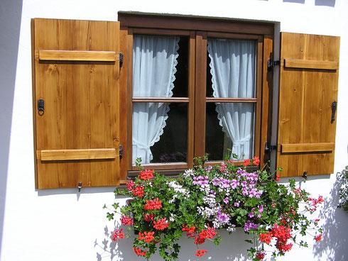 """""""Boarisches"""" Fenster."""