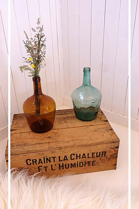 Dame-Jeanne ancienne vintage décoration