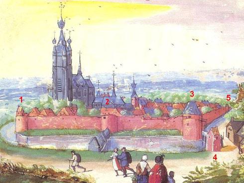 Album de Croÿ - Ville de Chièvres