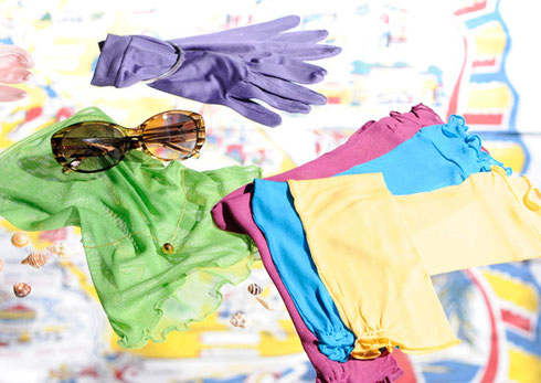 シルクマルベリー UVプロテクト手袋