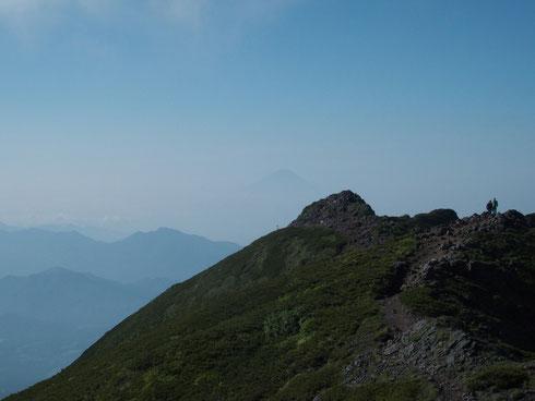 富士山も姿を見せてくれた