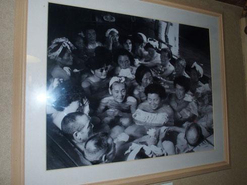 昭和30年代の写真だったか?すごい人気だったんですね