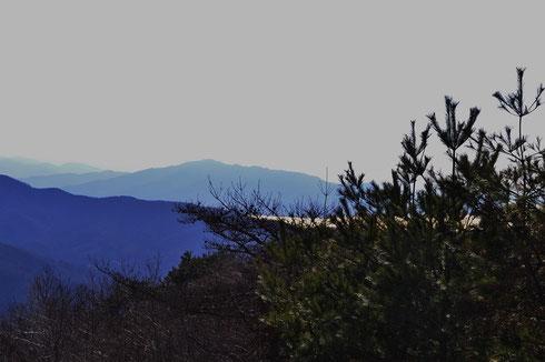 敦賀湾です。今日は丹後半島まで見えました。
