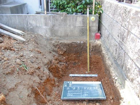 ブロック基礎 掘り方