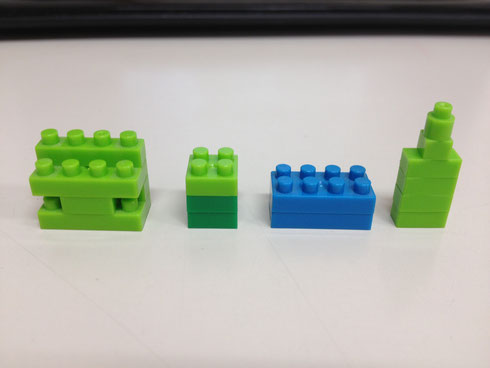 レゴブロックのような素材で構造材は作れないか?