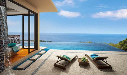 5 Sterne Villa in Phuket Thailand