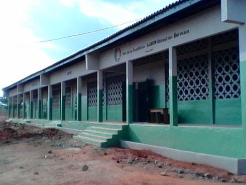 Les 4 salles de classe