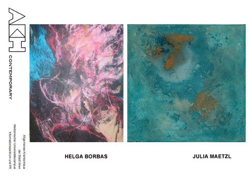 Wir empfehlen Galerie Time AKH Contemporary Ungarische Malerin Helga Borbas