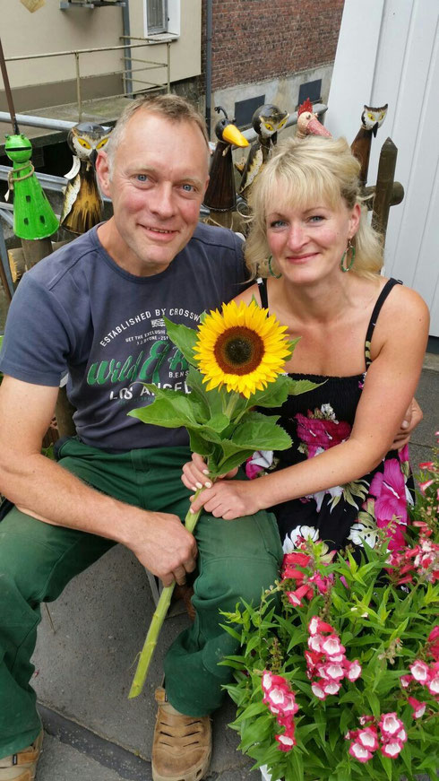 Rainer Bergfeld und Anita Klose