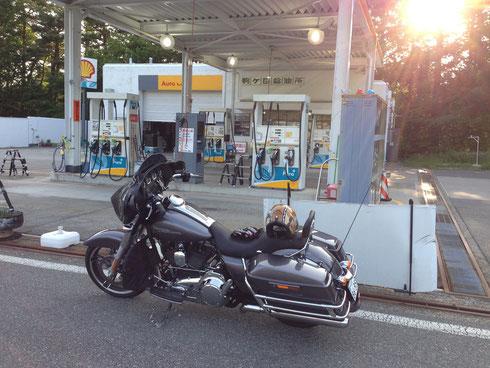 ブルースカイヘブン バイク