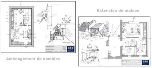 extension maison vannes