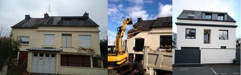 Rénovation maison à Vannes