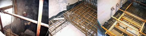 Abbruch und Stahlbetonarbeiten im Bestand