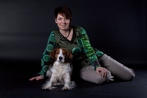 Vera Brosig mit Ilya vom Tespelkooi