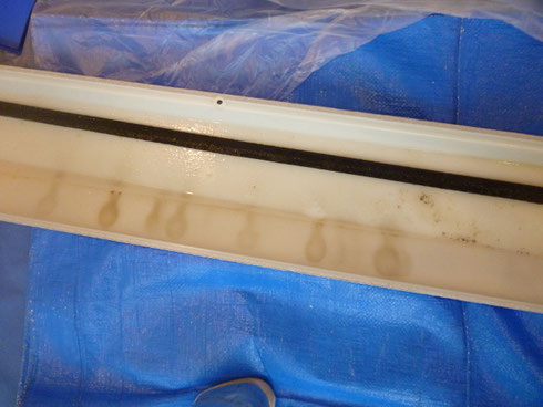 家庭用天井埋め込み型1方向のドレンパン