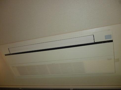 ダイキン製の天井埋め込み型1方向