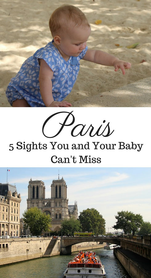 Paris is possible to travel to with a baby. In fact, it is a wonderful city to explore on a family vacation. Here are 5 top sights in Paris that you and your baby can't miss. Read more at www.BabyCanTravel.com/blog