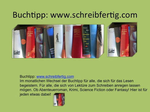 www.schreibfertig.com: Buchtipp für Junge Leser