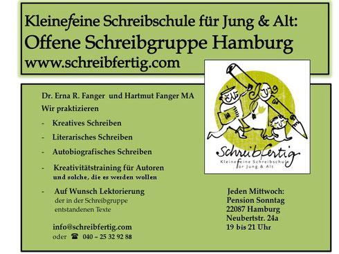 Schreibschule Hamburg - Offene Schreibgruppe