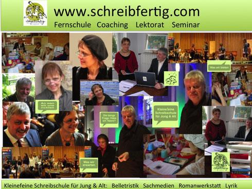 Schreibschule Fernschule Lektorat Coaching Seminar