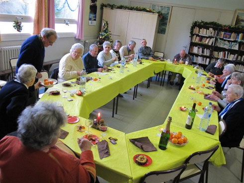 Bris'ta solidude à Plouaret - repas de Noël