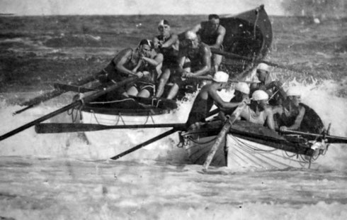 Competition surfboat 1922