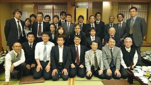高知県地盤工学研究会のメンバー