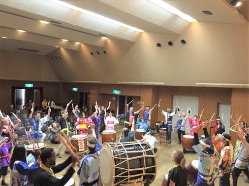 寧鼓座 奈良 国際交流 和太鼓