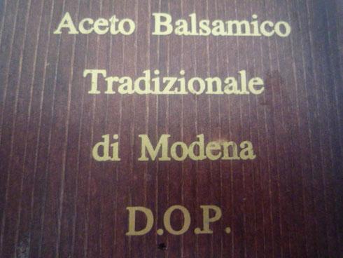 Oligarto Aceto Balsamico Tradizionale di Modena