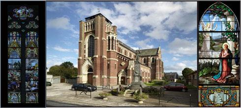 L'église de Fressenneville