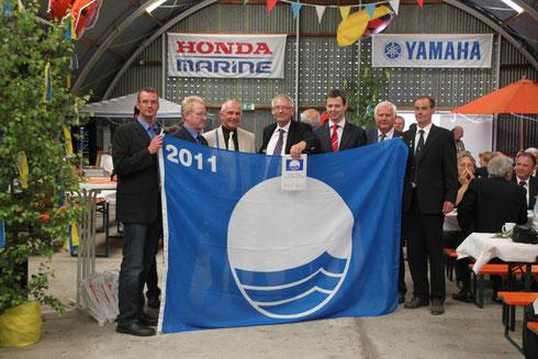 Blaue Flagge für Umwelterziehung