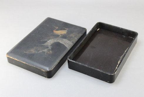 木製硯箱の修理