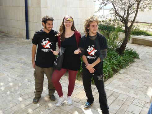 Freiwillig für die Natur: Helfer des SPNI