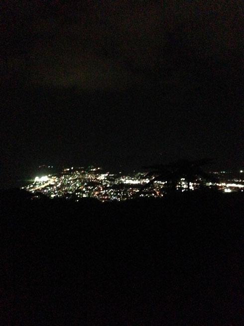 『夜景 名護岳山頂より』