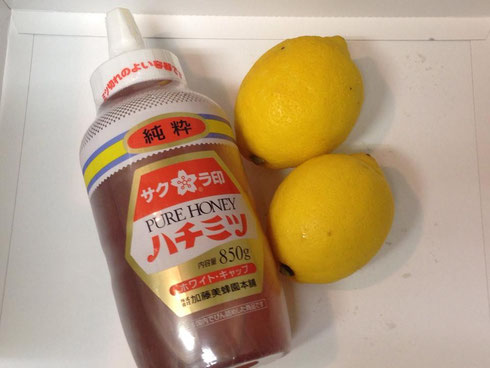 ハチミツとレモン