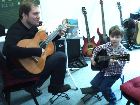 Kids Gitarren Einzelungerricht