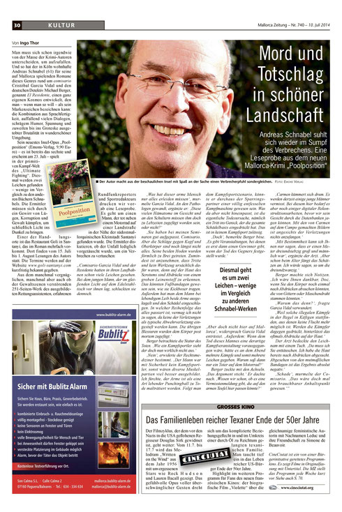 Mallorca Zeitung vom 10.07.2014