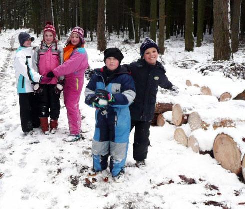 Naturgeburtstag macht auch im Winter Spaß!