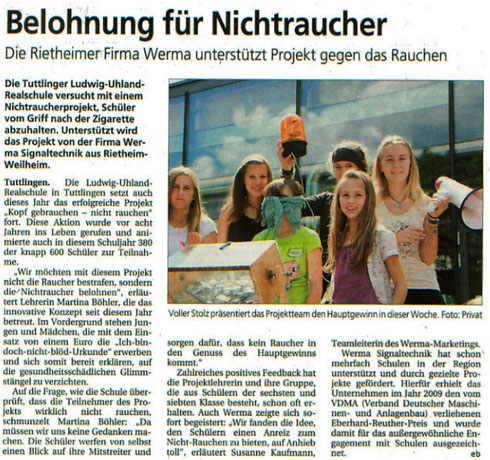 Wochenblatt, 13. Juli 2011