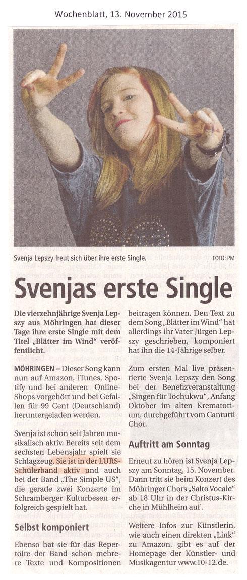 Wochenblatt, 13.11.2015