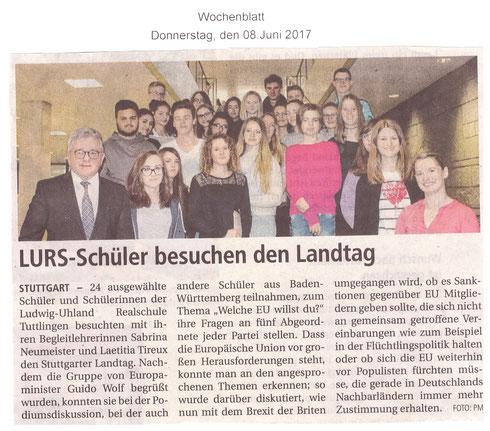 Wochenblatt 08.06.2017