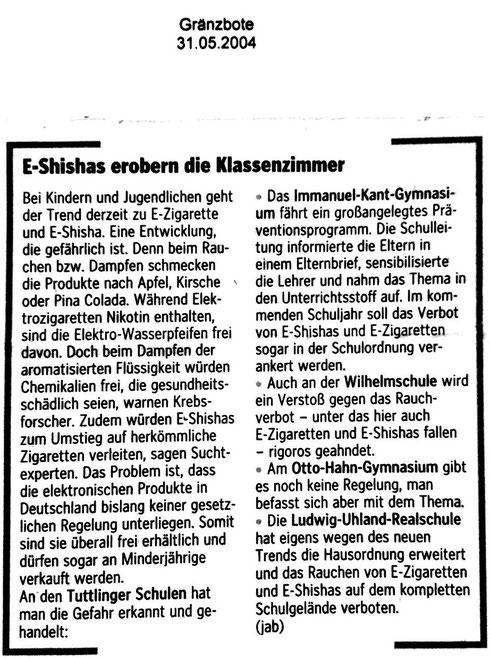 Gränzbote 30.05.2014