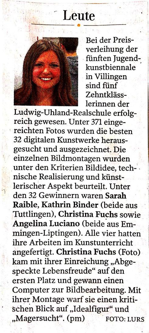 Gränzbote 17.07.2014