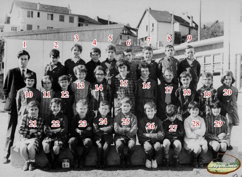 Année scolaire 1968 - Collège de Montsalvy