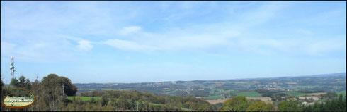 exceptionnel panorama du puy de l'arbre à montsalvy
