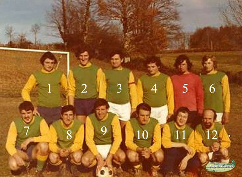 Equipe de football de l'A.S.S. (Association Sportive Sansacoise)