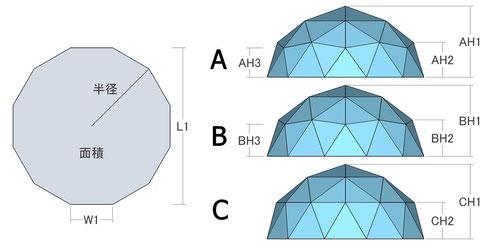 三角パネルの数 = 48枚