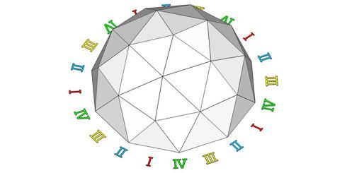 10角形ドーム  俯瞰図01